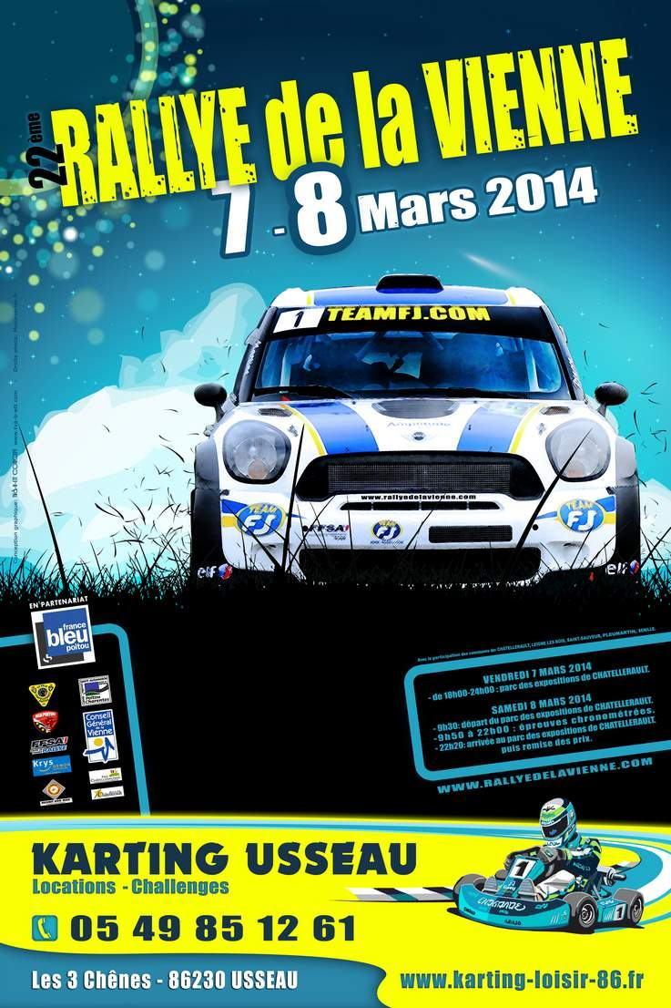 Programme Rallye de la Vienne 2014