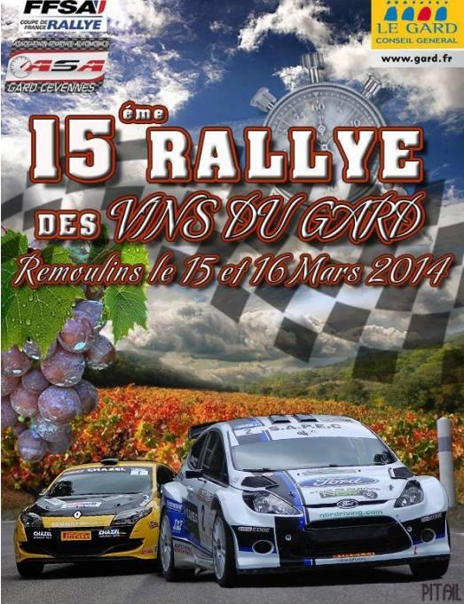 Programme Rallye des Vins du Gard 2014