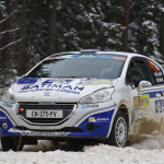 Jean-Mathieu Leandri et le Saintéloc Racing Junior Team dans les points au Rally Liepaja