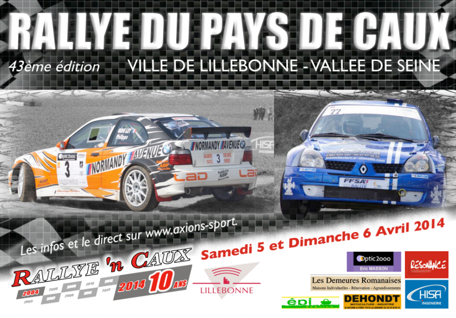 Rallye Pays De Caux Ville De Lillebonne