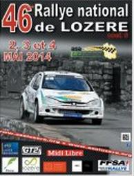 Programme Rallye de Lozere 2014