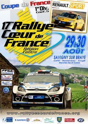 Direct Rallye Coeur de France 2014