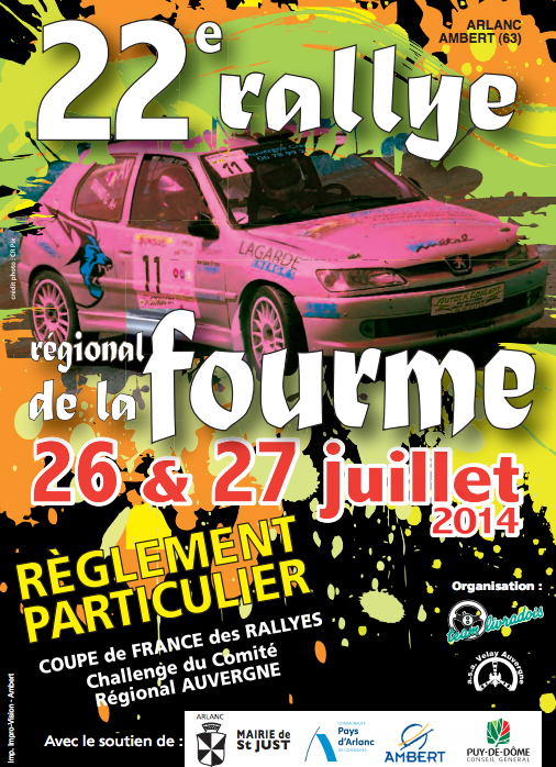 Classement Final Fourme d'Ambert 2014
