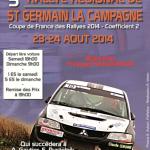 Rallye de Saint Germain la Campagne 2014