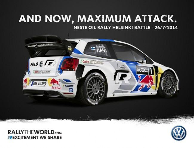Marku Alen Polo R WRC