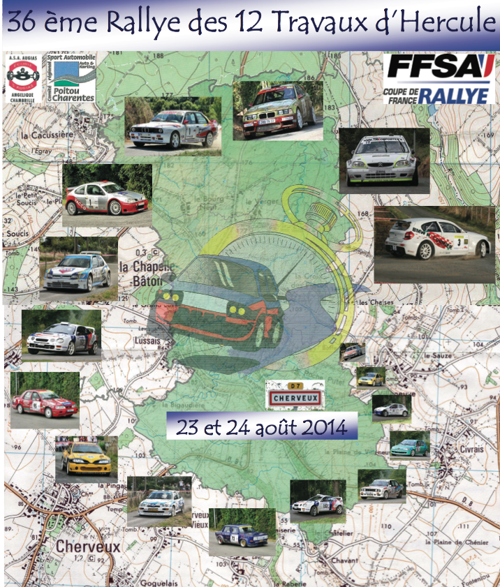Direct Rallye 12 Travaux d'Hercule 2014