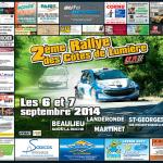 Rallye des Côtes de Lumière 2014