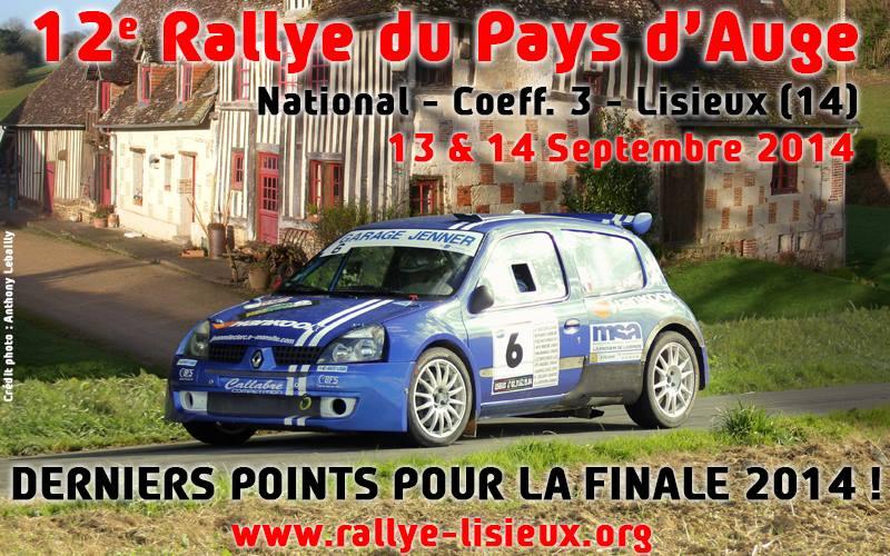 Rallye Pays d'Auge 2014