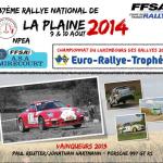 Rallye de la Plaine 2014