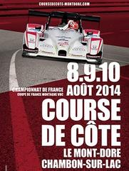 Course de cote du Mont Dore 2014