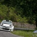 La Yaris WRC sur asphalte