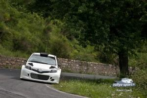 Photos Essais Yaris WRC