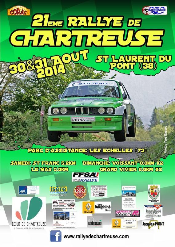 Classement Rallye de la Chartreuse 2014