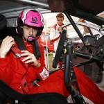 Les jeunes en DS3 WRC
