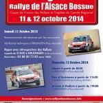 Rallye de l'Alsace Bossue 2014
