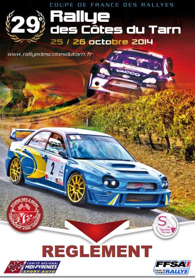 Programme Rallye Cotes du Tarn 2014