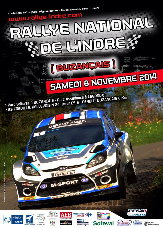 Programme Rallye Indre 2014