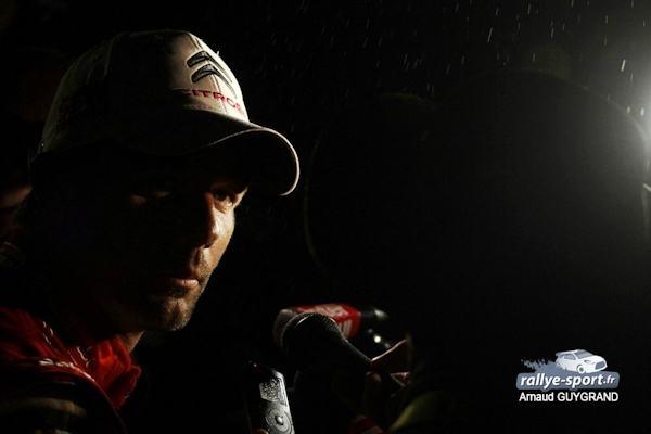 Sébastien Loeb à l'essai sur les routes de Moselle — Rallye
