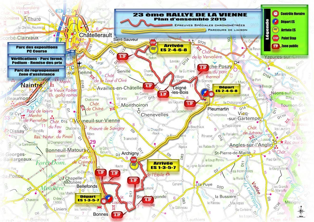 Rallye de la vienne 2015 for Habitat de la vienne chatellerault