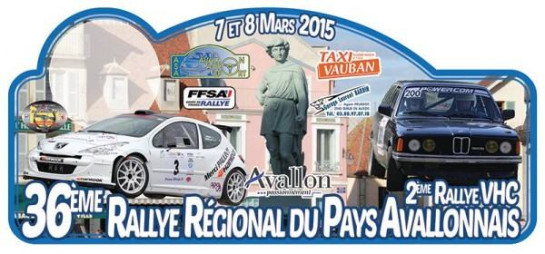 Direct Rallye Pays Avallonnais 2015