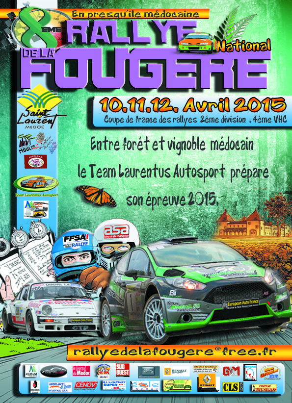 Direct Rallye de la Fougere 2015