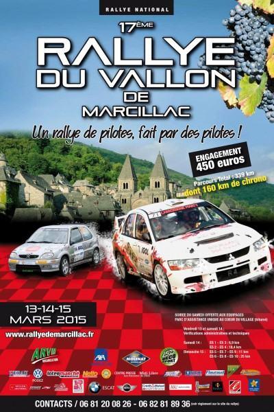 Rallye du Vallon de Marcillac 2015