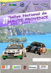Programme Rallye de Haute Provence 2015