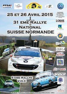Liste des engagés Rallye de la Suisse Normande 2015