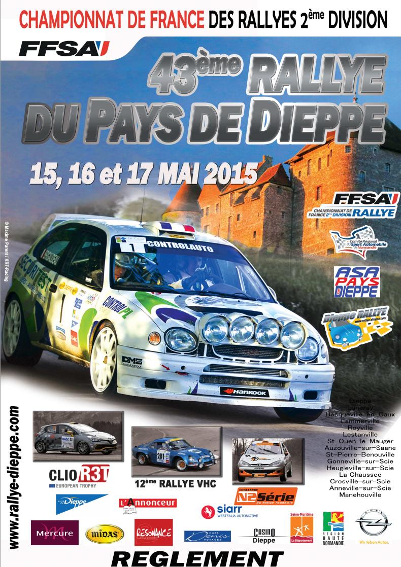 Rallye pays de dieppe 2015