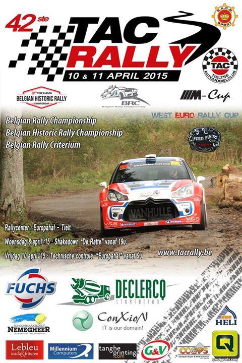 Tac Rally 2015 Programme
