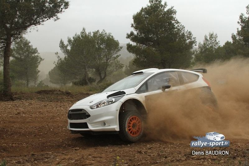Camilli en essais Fiesta R5