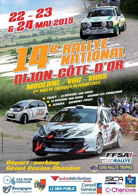 Rallye Dijon Cote d'Or 2015