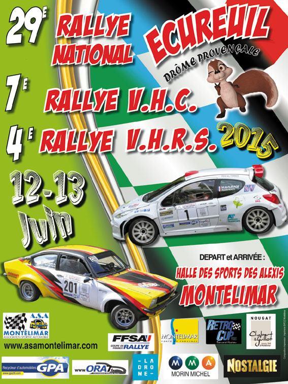 Rallye Ecureuil Drome 2015