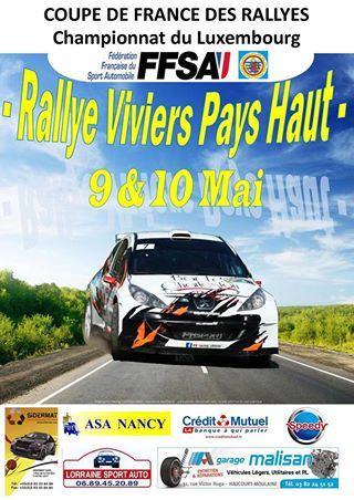 Rallye Viviers Pays Haut 2015