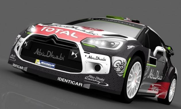 une ds3 wrc surprenante. Black Bedroom Furniture Sets. Home Design Ideas