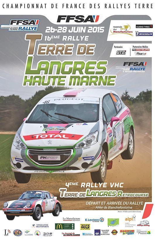 Programme Rallye Terre de Langres 2015