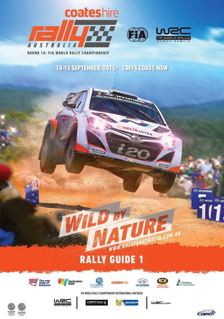 Programme Rallye d'Australie 2015