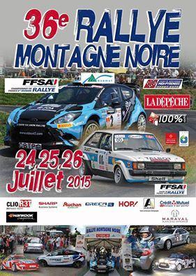 Programme Rallye de la Montagne Noire 2015