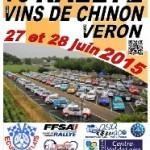 Rallye des Vins de Chinon et du Véron 2015