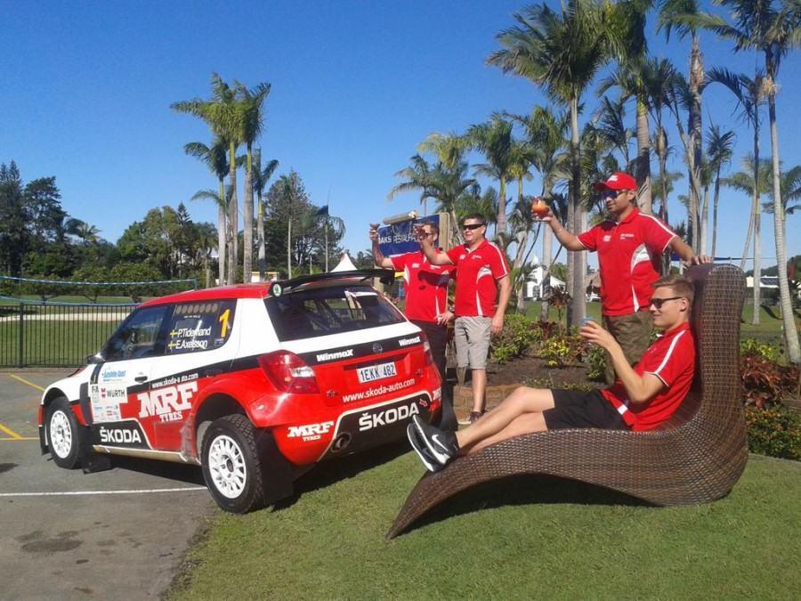 Classement Rally Queensland 2015