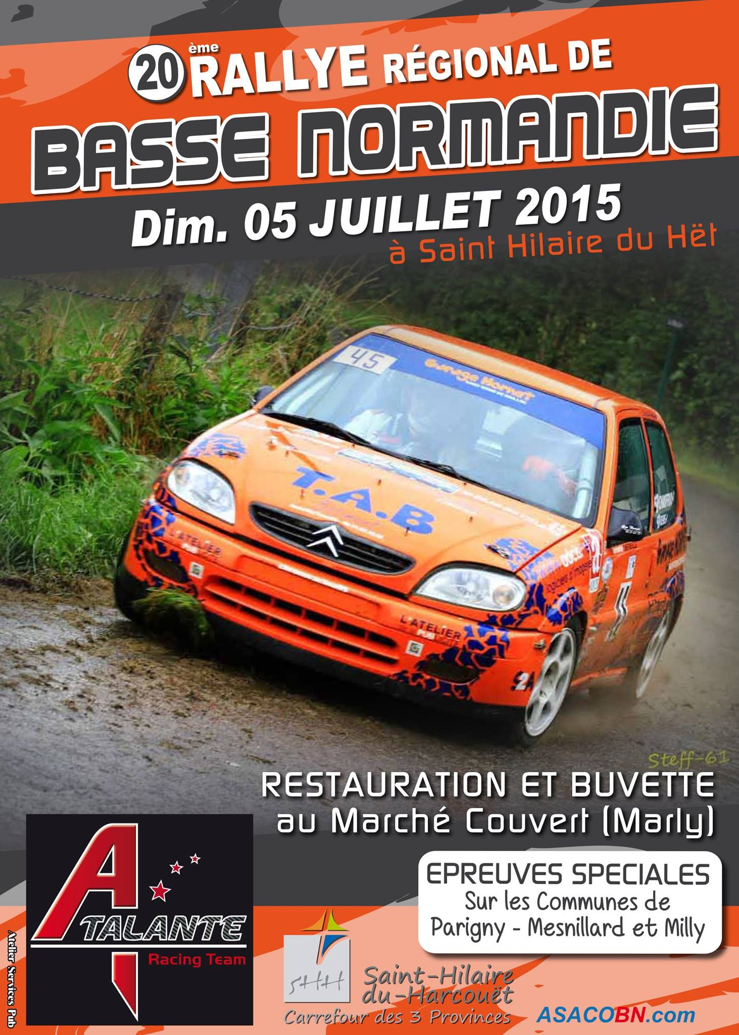 Rallye de basse normandie 2015 4 5 juillet r rallyes - Garage lemonnier saint hilaire du harcouet ...
