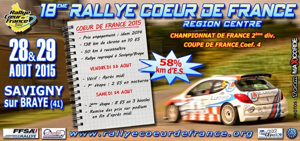 Rallye Coeur de France 2015