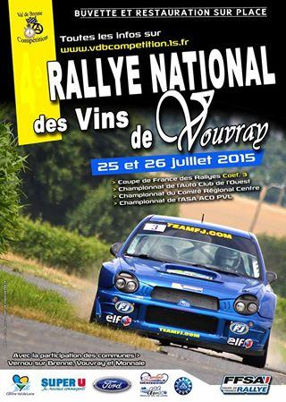 Rallye Vins de Vouvray 2015