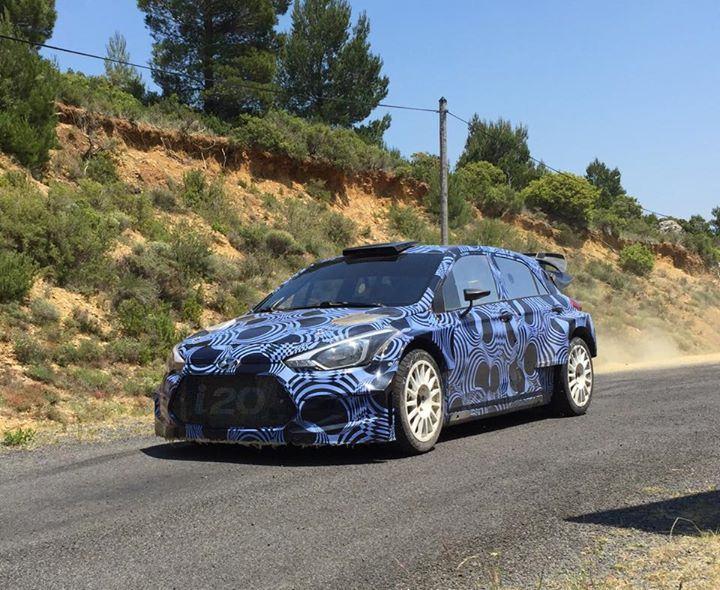 Sordo a la decouverte de la i20 WRC