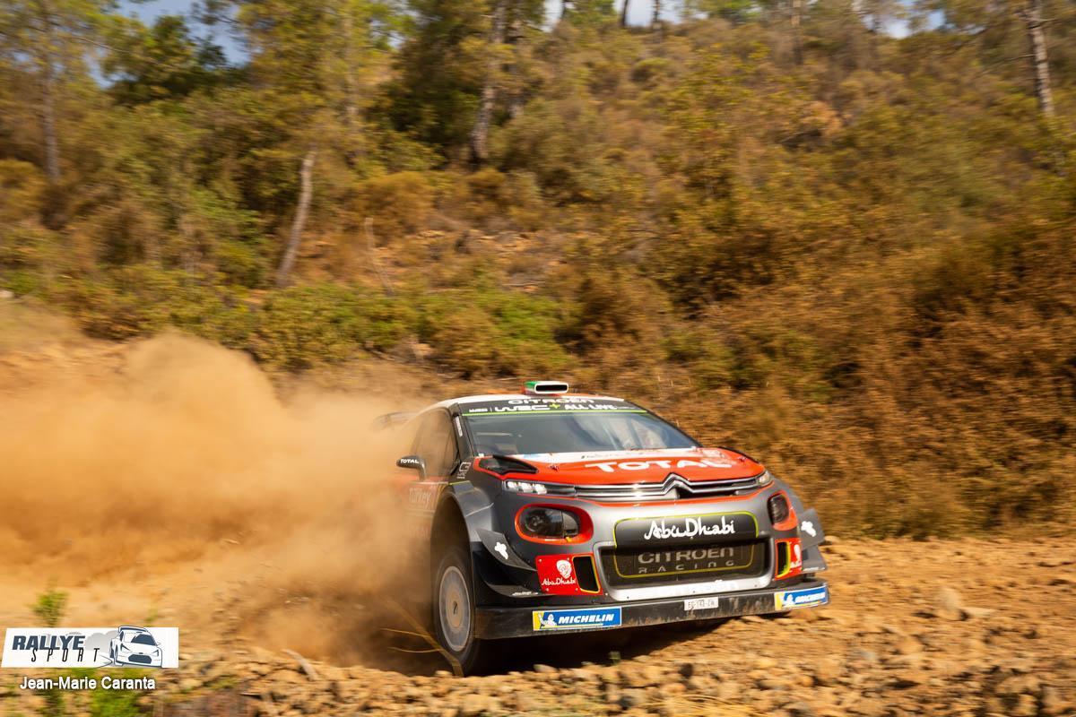 WRC RALLYE  RALLYE DE TURQUIE (terre)13-16 Septembre Breen-Turquie-2018
