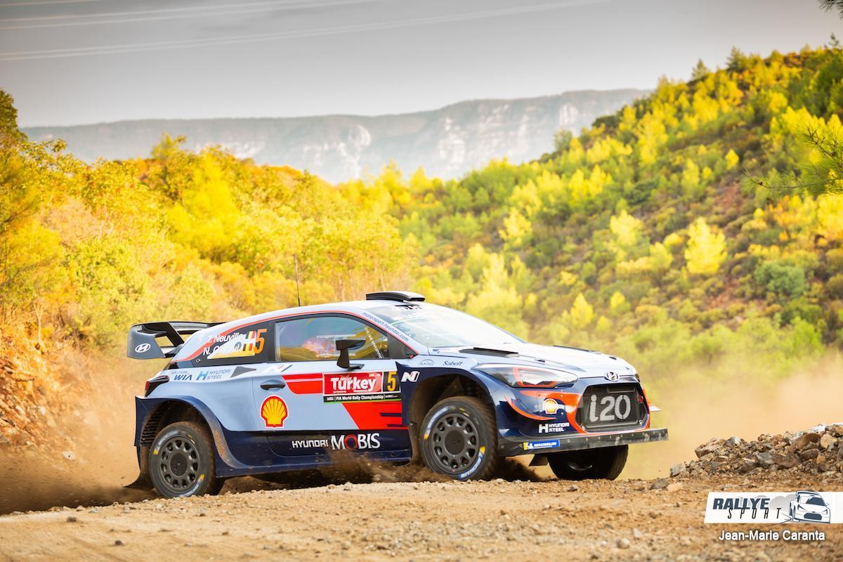 WRC RALLYE  RALLYE DE TURQUIE (terre)13-16 Septembre Neuville-Turquie-2018-1
