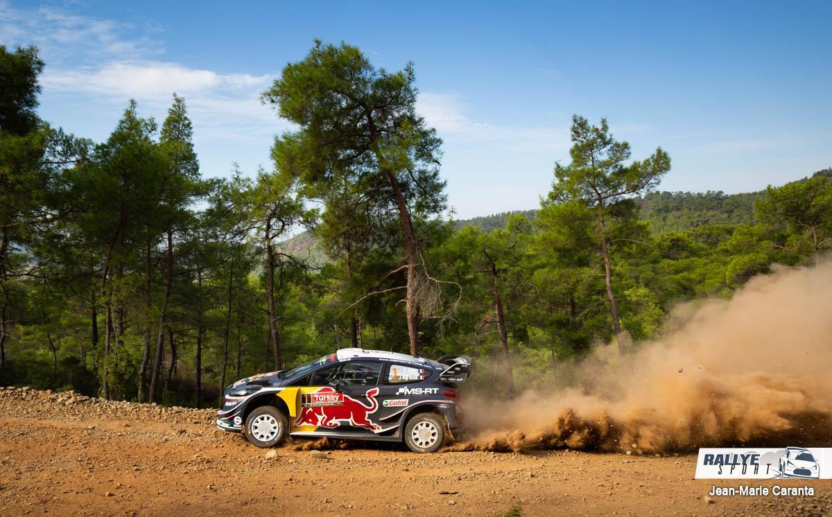 WRC RALLYE  RALLYE DE TURQUIE (terre)13-16 Septembre Ogier-Turquie-2018