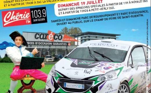 Rallye Routes Picardes 2015