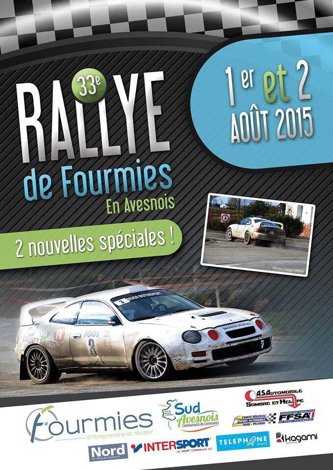 Rallye de Fourmies en Avesnois 2015