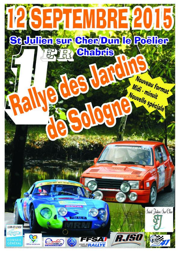 Rallye des Jardins de Sologne 2015